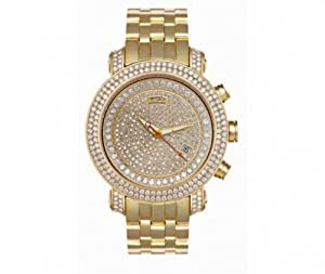 Joe Rodeo Men's GOLD1 Classic 12.50ct 221.50gr 14 k Diamond watch
