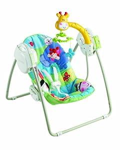 "Baby Gear - Columpio portátil ""Discover 'N Grow"", juguete con sonido (Mattel X6146) por FISHER-PRICE en BebeHogar.com"