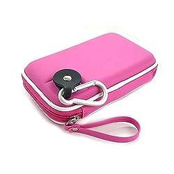Kroo CNDSZNP2-HD Western Digital My Passport Portable Hard Drive EVA Case (Hot Pink)