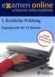 examen online. 1. ÄP. Zugangscode für 12 Monate: Interaktive Internetanwendung