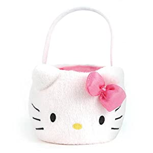 Hello Kitty Jumbo Plush Easter Basket