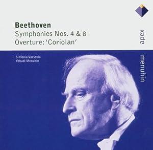 Beethoven: Symphonies Nos. 4  & 8 Overture 'Coriolan'