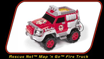 Rescue Net Map'n Go Fire Truck - Buy Rescue Net Map'n Go Fire Truck - Purchase Rescue Net Map'n Go Fire Truck (Matchbox, Toys & Games,Categories,Play Vehicles,Radio & Remote Control)