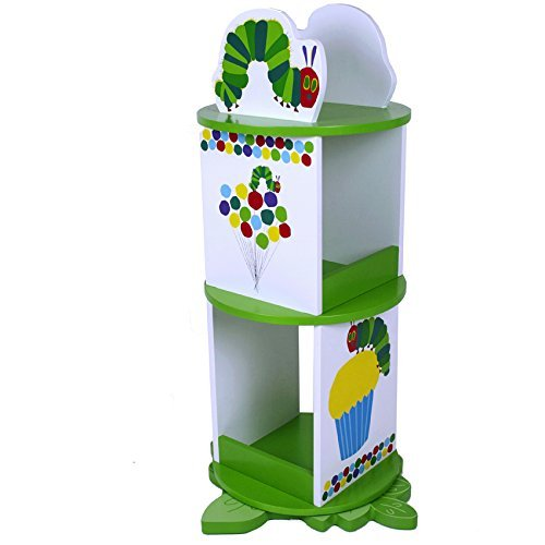 World of Eric Carle, The Very Hungry Caterpillar Revolving Bookcase by Levels of Discovery by Eric Carle