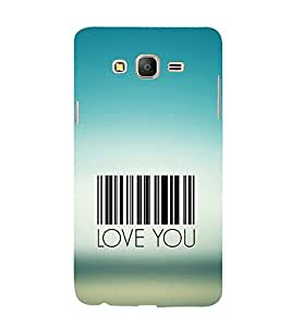 iFasho Love Quotes I love you Back Case Cover for Samsung Galaxy On5 Pro