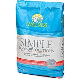 Wellness Simple Solutions Rice & Salmon Dry Dog Food
