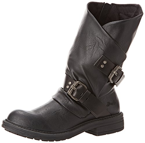 Blowfish Forta, Stivali classici imbottiti a mezza gamba donna, Nero (Schwarz (blk old saddle)), 36
