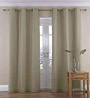 Soft Weave Eyelet Curtain