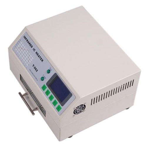 Eteyo T962 Desktop Automatic 800W Infrared Ic Heater Smart Reflow Oven Smd Bga 180×235Mm