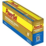 PowerBar Power Gel with C2 MAX - Box of 24 - Vanilla - No Caffeine