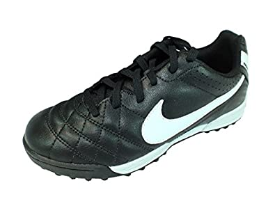 Nike - Football - Tiempo Natural Iv Tf Jr - Taille 37 1/2 - Noir