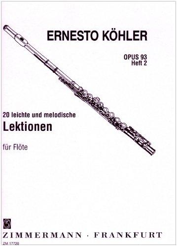 20-leichte-und-melodische-lektionen-op-93-heft-2-fur-flote-solo-in-fortschreitender-schwierigkeit