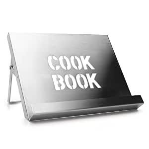 lutrin de cuisine acier inoxydable bross cuisine maison. Black Bedroom Furniture Sets. Home Design Ideas