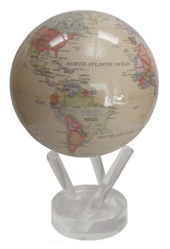 Antique Style 'Motion Within' Political Globe 4.5