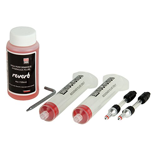 RockShox Bleed Kit Reverb Standard Bleed Kit Inc 2 Syringes/Fittings, 120ml