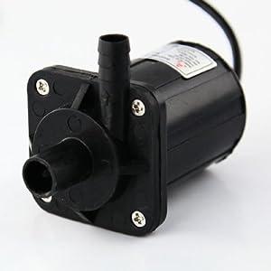 Aubig Ölpumpe Wasserpumpe Gartenpumpe Aquarienpumpe Tauchpumpe Solar 12V DC Bürstenlos Magnetische Treiber Pumpe DC40-1250 1.2A 14.4W 500L/H 5M/16ft from ZKSJ