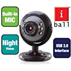 iBall C 8.0 Webcam Night Vision Face2Face Camera