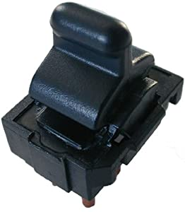 1984-1989 Corvette Power Window Control Switch Chevrolet (also 86-89 door lock switch)(1984 1985 1986 1987 1988 1989 84 85 86 87 88 89 chevy, drivers side, passenger side, power)