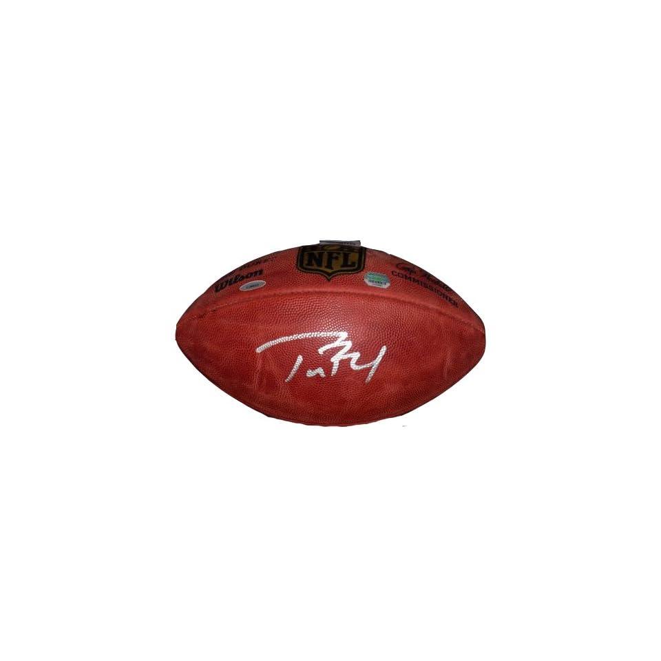 Tom Brady autographed signed NFL Football Sports