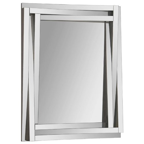 Ren-Wil Mt1247 Delaney Wall Mount Mirror By Kelly Stevenson And Jonathan Wilner, 40 By 30-Inch back-932529