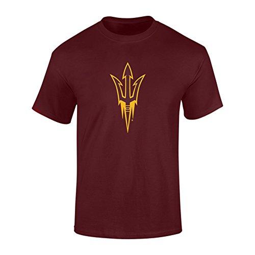 Arizona State Sun Devils TShirt Maroon - L (Devils T Shirt compare prices)