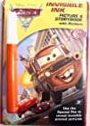 Disney Pixar Cars Movie Invisible Ink Picture   Story Book
