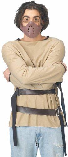 Adult Men's Straight Jacket Halloween Costume
