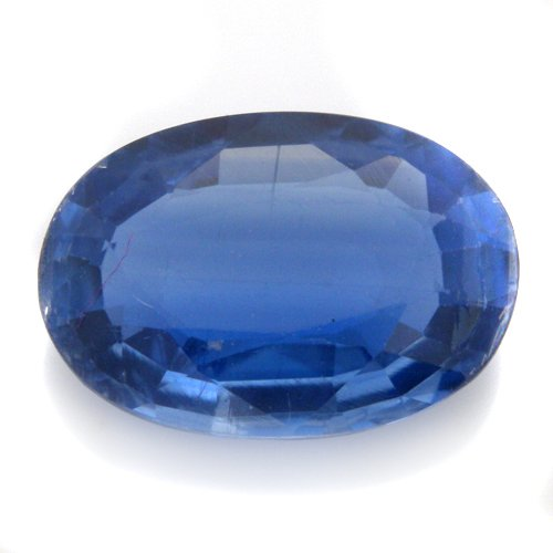 Natural Cornflower Blue Kyanite Loose Gemstone Oval Cut 2cts 10*6mm Stunning
