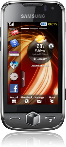 Samsung S8000 Jet Smartphone (Touchscreen, 5MP Kamera, WLAN, HSDPA) metallic-black