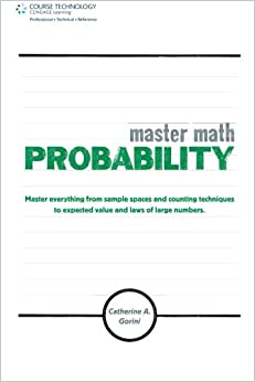 Master Math Probability Catherine A Gorini border=