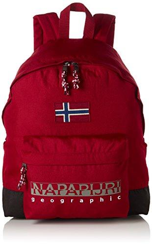 Napapijri HACK BACKPACK, Zaino Unisex - Adulto, Rosso (Rot (OLD RED 094)), 30x42x13 cm (B x H x T)