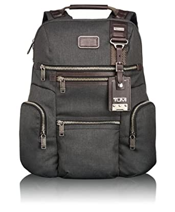 Tumi Luggage Alpha Bravo Knox Backpack, Anthracite, One Size