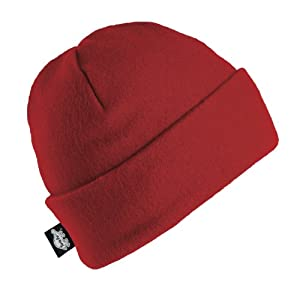 Turtle Fur The Hat, Red, One Size
