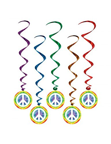 Peace Sign Whirls   (5/Pkg) - 1