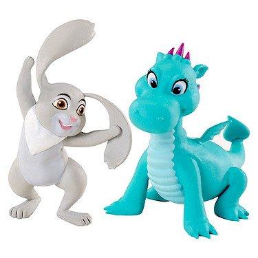 Principesse Disney - Chj46 - Mini bambola - Principessa Sofia Animali And Friends - confezione da 2