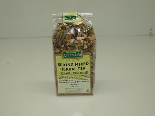 Natural Spring Mixed Herbal Tea With Orange 90Gr