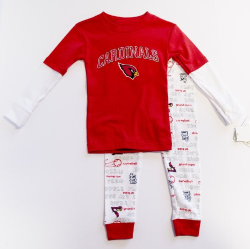St. Louis Cardinals Licensed Toddler Pajama Set Outfit (2T) at Amazon.com