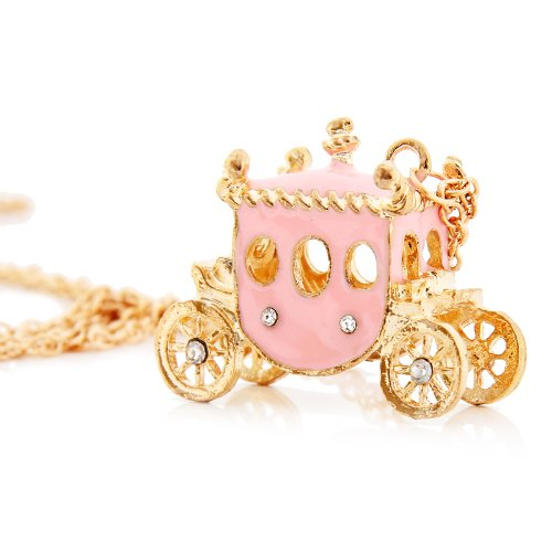 Lovely pink princess djtkb vs djrain remix necklace