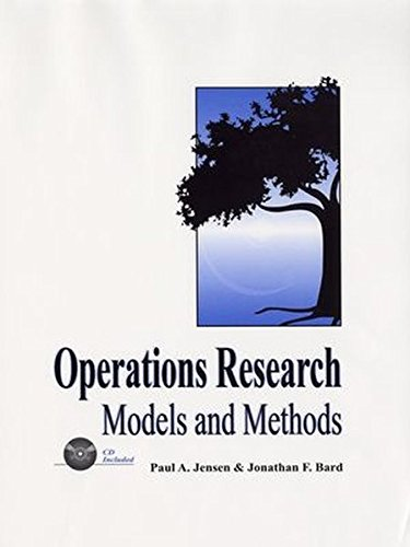 Operations Research Models and Methods