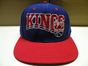 NBA Sacramento Kings Retro 2 Tone Snapback Cap Old School by adidas