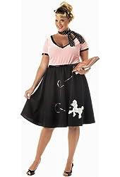 Plus Size Poodle Dress Costume