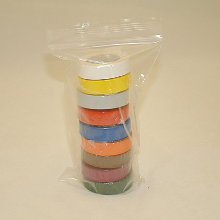 3M 35 Electrical Tape 9-Pack (One of Each Color)