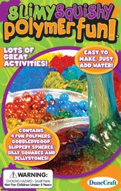 Science Fun Kits - Slimy, Squishy Polymer Fun