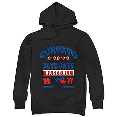 TIKE Men's Toronto Blue Jays Baseball 1977 Hoodies Sweatshirt