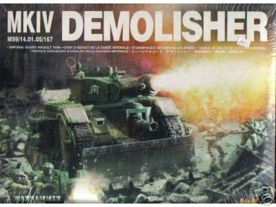 Warhammer 40K Imperial Guard Demolisher (Mk 2)