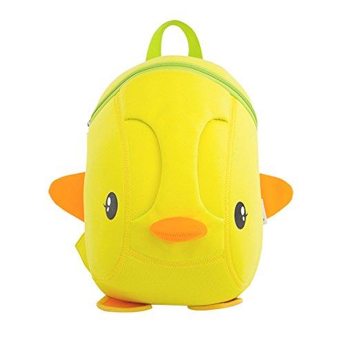 Nohoo® Kids duck Backpack 3D Cute Zoo Cartoon School Boys Girls Bags
