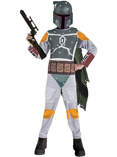 Rubie's Costume Co Boys Boba Fett Standard Child