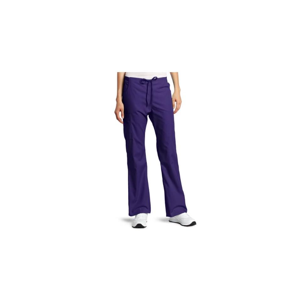 Dickies Womens Back Elastic Cargo Pant, Purple, Medium