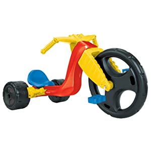 The Original Big Wheel &quot;Spin Out Racer&quot; 16&quot; Ride-On Trike w/ Hand Brake (no decals)