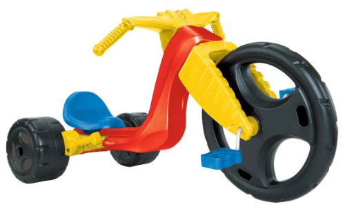 25634350 further Shop together with Made In The Usa additionally The Original Big Wheel Spin Out Racer 16 Ride On Trike W Hand Brake No Decals also Radio Flyer Bike. on tricycle radio flyer lights sounds racer